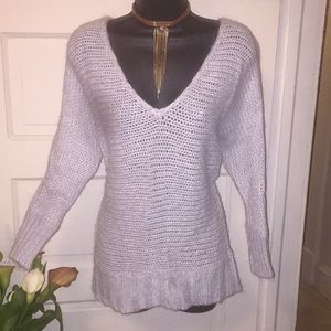 American Eagle outfitters crocheted sweater